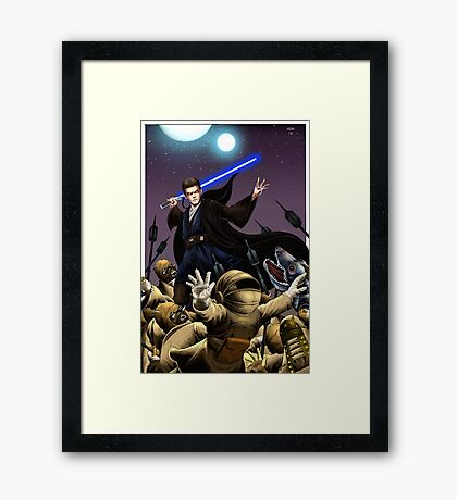 Anakin Skywalker  Framed Print