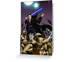 Anakin Skywalker  Greeting Card
