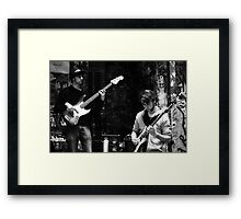 Jazz in the Grotto Framed Print
