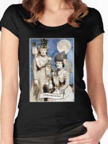 A Parliament of Owls Women's Fitted Scoop T-Shirt