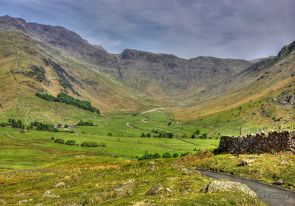 The Valley - Lake District by Trevor Kersley