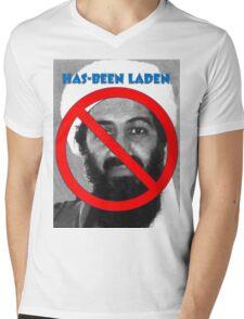 Has-been Laden Mens V-Neck T-Shirt