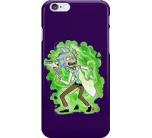 Y-y-you're a good kid, Morty iPhone Case/Skin
