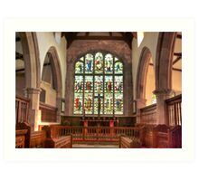 The Altar Window Art Print