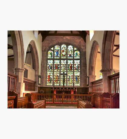 The Altar Window Photographic Print