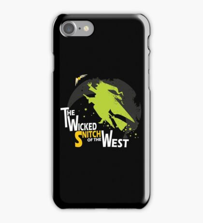 The Wicked Snitch of the West - Dark iPhone Case/Skin