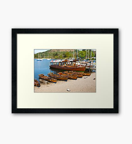Queen of the Lake Framed Print