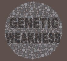 Genetic Weakness - Colour Blind - Ishihara by Teevolution