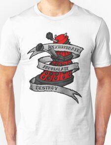 Red Dalek Unisex T-Shirt