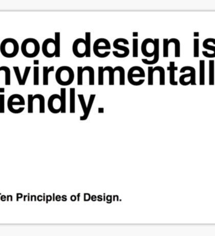 Principles of Design 9 Sticker
