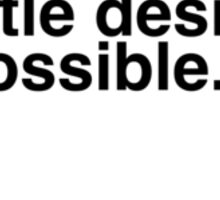Principles of Design 10 Sticker