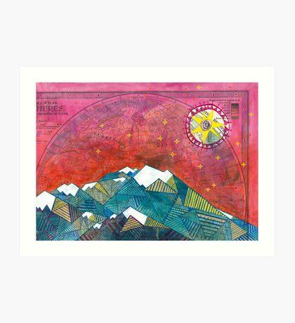 The Edge of the Sky Art Print
