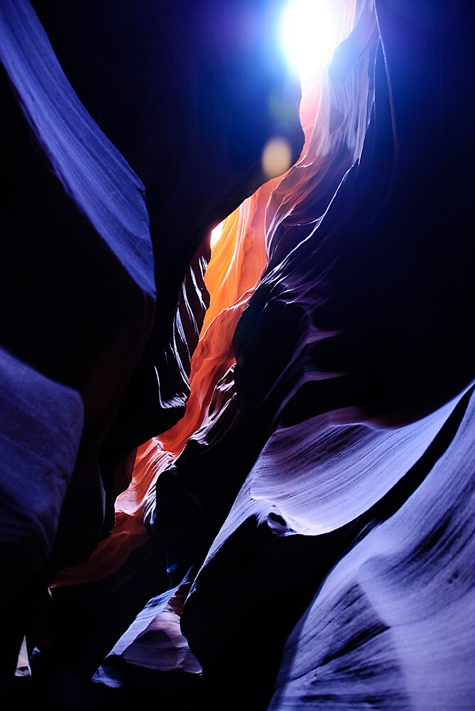 Colours of the Slot Canyons by Kalpesh Patel