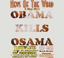 Obama Kills Osama T-shirt Design T-Shirt