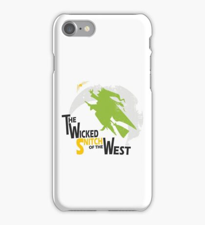 The Wicked Snitch of the West - Light iPhone Case/Skin