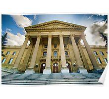 Edmonton Legislature Pseudo HDR Poster