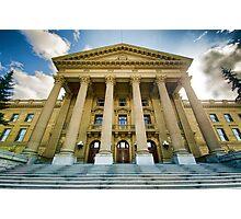 Edmonton Legislature Pseudo HDR Photographic Print
