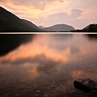 Sunset Buttermere, Cumbria. UK by David Lewins LRPS