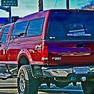 Stolen Red Pickup #5 by Bryan D. Spellman