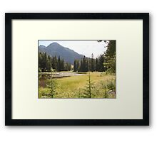 """MY"" GOLDEN POND  Framed Print"