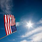 Stars and Stripes and sunshine by Kalpesh Patel