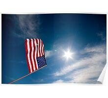 Stars and Stripes and sunshine Poster