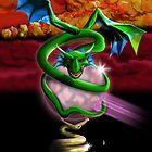 Crystal Dragon by artistforhire