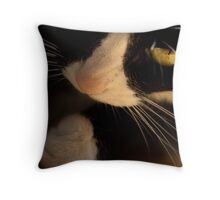 miss curiosity Throw Pillow