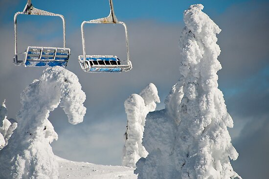 Frozen Chairs by Kalpesh Patel