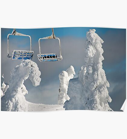 Frozen Chairs Poster