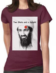 Bin Laden is DEAD!  :) Womens Fitted T-Shirt