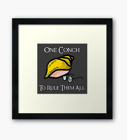 Lord of the Conch Framed Print