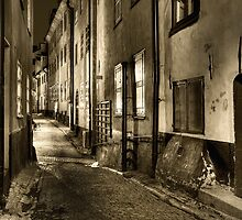 Old Town in sepia. by cloud7