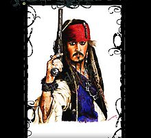 Jack Sparrow by wolfshead42