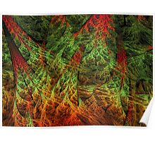 Forestry Fractal  Poster