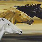 Horses by Susan Brown