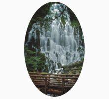 Ramona Falls in Oregon Kids Tee