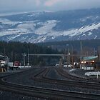 Truckee Railroad Tracks by Dory Breaux