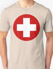 Swiss Air Force Insignia Unisex T-Shirt