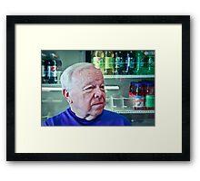 Retired Fighter Jet Pilot Framed Print