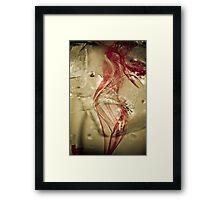 Ribbon Dancer Framed Print