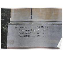 Winchester Milestone  Poster