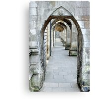 Winchester Cloisters Canvas Print