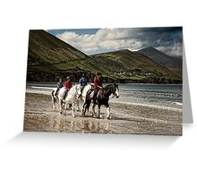 County Kerry Beachriders Greeting Card