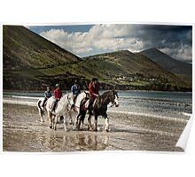 County Kerry Beachriders Poster