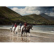 County Kerry Beachriders Photographic Print