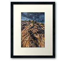 Stone Flow Framed Print