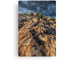 Stone Flow Canvas Print