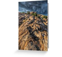 Stone Flow Greeting Card