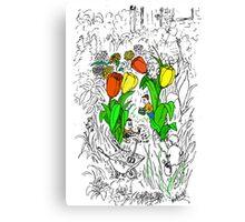 Gardening Help Canvas Print